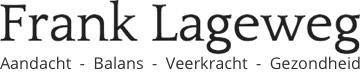 Frank Lageweg | Chi Neng Qigong | Haptotherapie | Stresscounseling Logo
